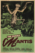 "Movie Posters:Science Fiction, The Deadly Mantis (Universal International, 1957). Poster (40"" X60"").. ..."