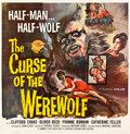 "Movie Posters:Horror, Curse of the Werewolf (Universal International, 1961). Six Sheet(81"" X 81"").. ..."