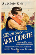 "Movie Posters:Drama, Anna Christie (First National, 1923). One Sheet (27"" X 41"").. ..."