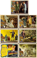 """Movie Posters:Fantasy, Stairway to Heaven (Universal International, 1946). Title Lobby Card and Lobby Cards (6) (11"""" X 14"""").. ... (Total: 7 Items)"""