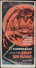 "Movie Posters:Science Fiction, The Angry Red Planet (American International, 1960). Three Sheet(41"" X 78""). Science Fiction.. ..."