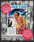 "Movie Posters:Adventure, Ebb Tide (Paramount, 1937). Pressbook (Multiple Pages, 12.25"" X15""). Adventure.. ..."
