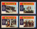 "Movie Posters:Adventure, Hercules (Embassy, 1959). CGC Graded Lobby Card Set of 8 (11"" X14""). Adventure.. ... (Total: 8 Items)"