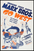 "Movie Posters:Comedy, Go West Lot (MGM, R-1962). One Sheets (2) (27"" X 41""). Comedy.. ... (Total: 2 Items)"