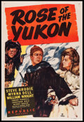 "Movie Posters:Adventure, Rose of the Yukon (Republic, 1949). One Sheet (27"" X 41"").Adventure.. ..."