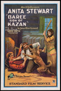 "Movie Posters:Adventure, Baree, Son of Kazan (Standard, 1925). One Sheet (27"" X 41"").Adventure.. ..."