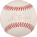 Autographs:Baseballs, Circa 1970 Gil Hodges Single Signed Baseball, PSA NM+ 7.5....