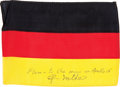 Explorers:Space Exploration, Apollo 14 Flown National Flag of Germany Directly from the Personal Collection of Mission Lunar Module Pilot Edgar Mitchell, S...