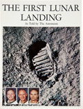 Autographs:Celebrities, Apollo 11 Crew-Signed NASA Apollo 11 Commemorative Book, The First Lunar Landing, As Told by The...