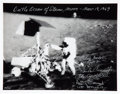 Autographs:Celebrities, Apollo 12 Crew-Signed Large Limited Edition B&W Photo. ...