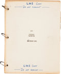Explorers:Space Exploration, Apollo 9 Training-Used LM-3 [Lunar Module] Procedures Malfunction Book....