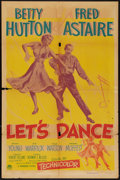 """Movie Posters:Musical, Let's Dance (Paramount, 1950). One Sheet (27"""" X 41""""). Musical.. ..."""