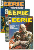 Magazines:Horror, Eerie Group (Warren, 1967-79) Condition: Average FN/VF.... (Total: 16 Comic Books)