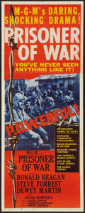 "Movie Posters:War, Prisoner of War (MGM, 1954). Insert (14"" X 36""). War.. ..."