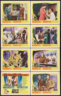 "The Magnetic Monster (United Artists, 1953). Lobby Card Set of 8 (11"" X 14""). Science Fiction. ... (Total: 8 I..."