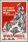 """Movie Posters:Exploitation, Devil's Angels Lot (American International, 1967). One Sheets (5) (27"""" X 41""""). Exploitation.. ... (Total: 5 Items)"""