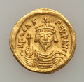 Ancients:Byzantine, Ancients: Byzantine. Phocas (AD 602-610). AV solidus (4.34 gm). ...