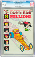 Bronze Age (1970-1979):Cartoon Character, Richie Rich Millions #41 File Copy (Harvey, 1970) CGC NM/MT 9.8Off-white to white pages....