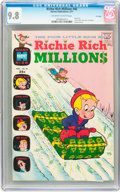 Bronze Age (1970-1979):Cartoon Character, Richie Rich Millions #46 File Copy (Harvey, 1971) CGC NM/MT 9.8Off-white to white pages....