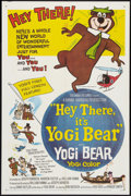 "Movie Posters:Animated, Hey There, It's Yogi Bear Lot (Columbia, 1964). One Sheets (4) (27"" X 41"") and Lobby Card Set of 8 (11"" X 14""). Animated.. ... (Total: 12 Items)"