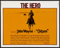 "Chisum Lot (Warner Brothers, 1970). Half Sheets (2) (22"" X 28""). Western. ... (Total: 2 Items)"
