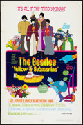 "Movie Posters:Animated, Yellow Submarine (United Artists, 1968). One Sheet (27"" X 41"").Animated.. ..."