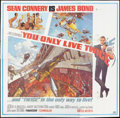 "Movie Posters:James Bond, You Only Live Twice (United Artists, 1967). Six Sheet (81"" X 81"").James Bond.. ..."