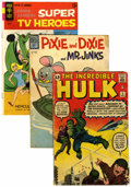 Silver Age (1956-1969):Miscellaneous, Miscellaneous Silver/Bronze Age Reading Copies Short Box Group(Various Publishers, 1960s-70s) Condition: Average FR....