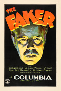 """The Faker (Columbia, 1929). One Sheet (27"""" X 41"""") Style A"""