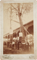 Photography:Cabinet Photos, Cabinet Card: Lynching of the Ruggles Brothers....