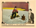 "Movie Posters:Comedy, The Gold Rush (United Artists, 1925). Lobby Card (11"" X 14"").. ..."