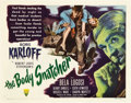 "Movie Posters:Horror, The Body Snatcher (RKO, 1945). Half Sheet (22"" X 28"") Style A.. ..."