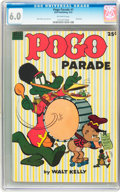 Golden Age (1938-1955):Funny Animal, Dell Giant Comics Pogo Parade #1 (Dell, 1953) CGC FN 6.0 Off-whitepages....