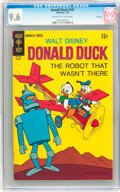 Bronze Age (1970-1979):Cartoon Character, Donald Duck #129 File Copy (Gold Key, 1970) CGC NM+ 9.6 Off-whiteto white pages....