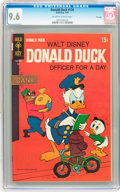 Silver Age (1956-1969):Cartoon Character, Donald Duck #126 File Copy (Gold Key, 1969) CGC NM+ 9.6 Off-white to white pages....