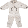 Explorers:Space Exploration, Apollo Program: Training-Used A7L Integrated Thermal MicrometeoroidGarment by ILC with Jim Irwin Tagging, Originally from His...