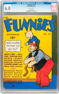 Platinum Age (1897-1937):Miscellaneous, The Funnies #12 (Dell, 1937) CGC FN 6.0 Off-white pages....