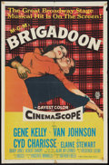 """Movie Posters:Musical, Brigadoon Lot (MGM, 1954). One Sheets (2) (27"""" X 41"""") and Subway (44.5"""" X 59"""") Advance. Musical.. ... (Total: 3 Items)"""