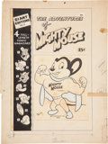 Original Comic Art:Covers, Art Bartsch Giant Comics Edition #8 The Adventures of MightyMouse Cover Original Art (St. John, 1949)....