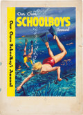 Original Comic Art:Covers, Walt Howarth Our Own Schoolboy's Annual Cover PaintingOriginal Art (undated)....