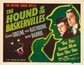 "Movie Posters:Mystery, The Hound Of The Baskervilles (20th Century Fox, 1939). CGC GradedTitle Lobby Card (11"" X 14"").. ..."