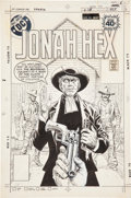 Original Comic Art:Covers, Luis Dominguez Jonah Hex #24 Cover Original Art (DC,1979)....