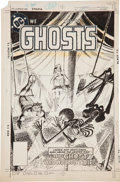 Original Comic Art:Covers, Luis Dominguez Ghosts #82 Cover Original Art (DC, 1979)....