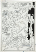 Original Comic Art:Panel Pages, Neal Adams and Tom Palmer X-Men #62 Angel page 4 OriginalArt (Marvel, 1969)....