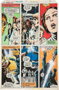 Original Comic Art:Panel Pages, Howard Chaykin and Steve Leialoha Star Wars #4 page 26 HandPainted Original Art (Marvel, 1977)....