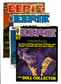 Magazines:Horror, Eerie Group (Warren, 1968-72) Condition: Average VF+.... (Total: 13 Comic Books)