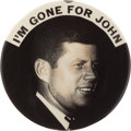 Political:Pinback Buttons (1896-present), John F. Kennedy: One of the Very Best 1960 Campaign ButtonVarieties....