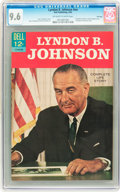 Silver Age (1956-1969):Miscellaneous, Lyndon B. Johnson #nn File Copy (Dell, 1965) CGC NM+ 9.6 Off-whiteto white pages....