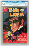 Silver Age (1956-1969):Horror, Movie Classics - Tomb of Ligeia #nn File Copy (Dell, 1965) CGC NM+9.6 Off-white to white pages....