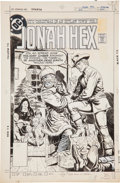 Original Comic Art:Covers, Luis Dominguez Jonah Hex #34 Cover Original Art (DC,1980)....